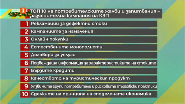 Потребители и права - председателят на КЗП Димитър Маргаритов