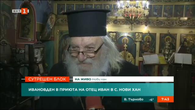 Ивановден в приюта на отец Иван в Нови хан