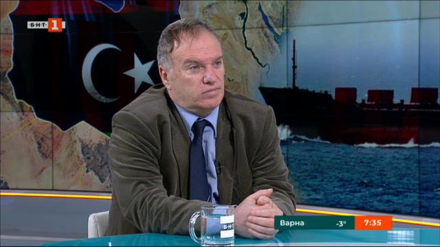 Казусът с либийския кораб - коментар на проф. Владимир Чуков