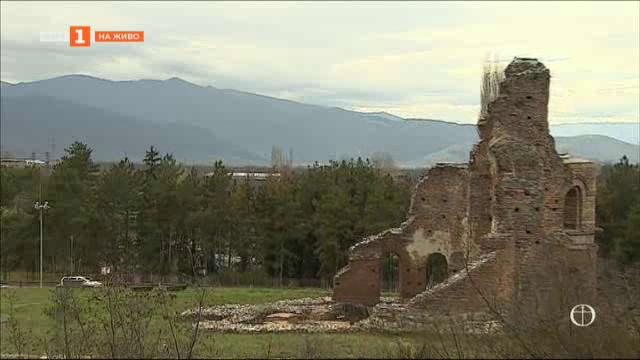 """""""Червената църква"""" край Перущица"""