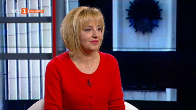 Мая Манолова: Не мога да подмина нито едно лошо решение