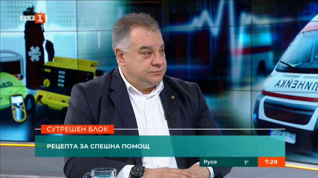 Д-р Мирослав Ненков: Спешната помощ е поставена под прицела на обществото