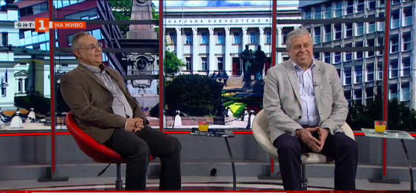 Новият стар НИХМ - проф. Пламен Нинов и проф. Христомир Брънзов