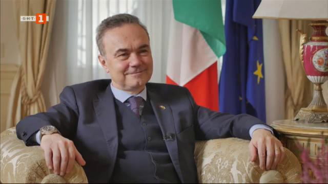 Чужденците: италианският посланик Стефано Балди