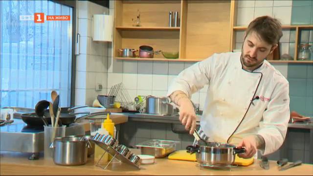 Рецепта до 10 лева с шеф Виктор Жечев