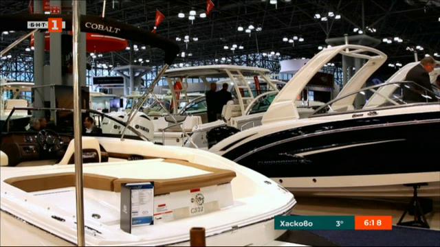 Корабно изложение в Ню Йорк