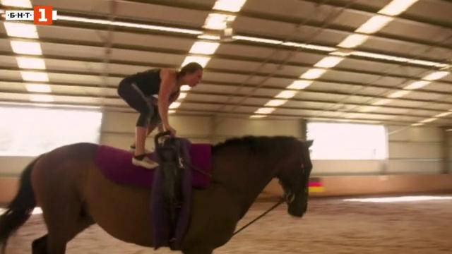 Възраждане на конната акробатика в Австралия