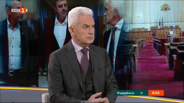 Волен Сидеров: Излизането на БСП от Парламента е отказ от парламентаризма
