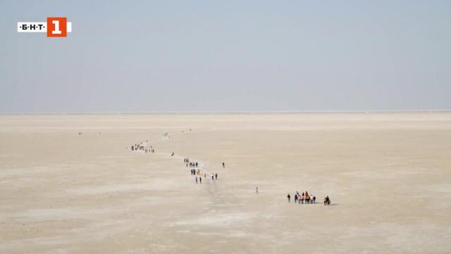 Куч - солната пустиня на Индия