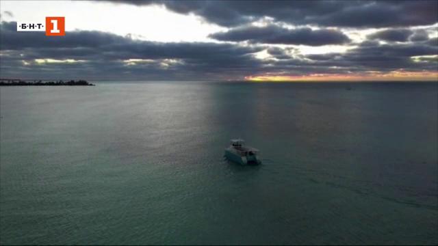 Първата лицензирана електрическа яхта за наблюдение на морски бозайници