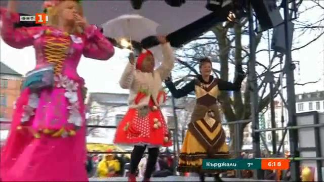 Танц на жените продавачки в Мюнхен