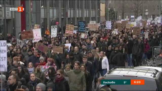 Протестна вълна срещу реформата за авторското право