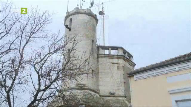 Флотската наблюдателна кула в Русе