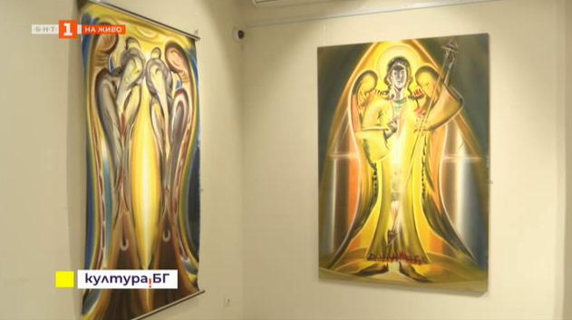Изложбата Селения на художника Андрей Янев в галерия Контраст