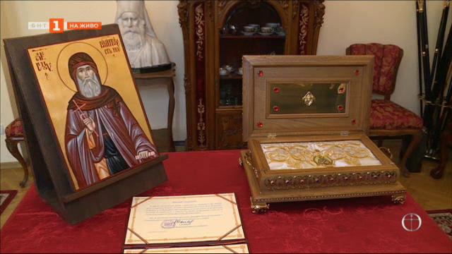 Русенци посрещнаха ризата Св. Димитър Басарбовски