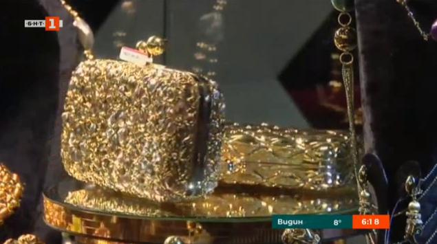Изложение на злато и бижута в Истанбул