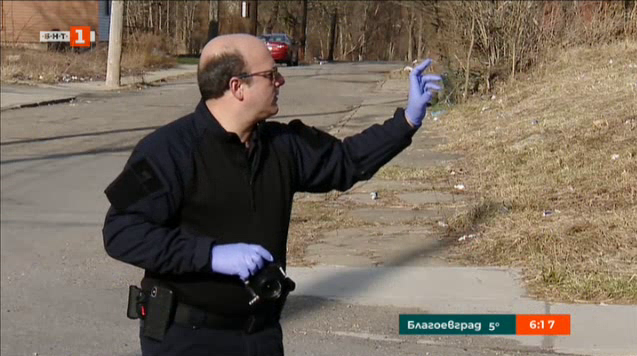 Полицай-сладкар в Питсбърг