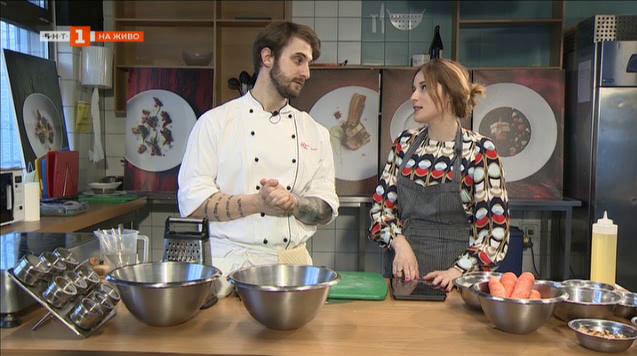 Рецепта до 10 лева с шеф Виктор Жечев: Морковен кейк