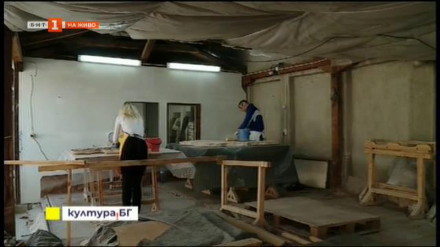 Строителството на голямата епископска базилика в Пловдив