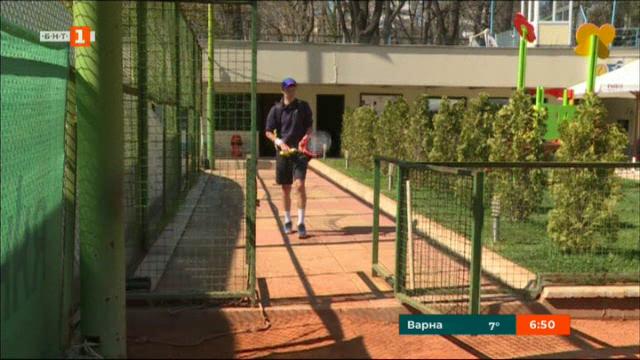 Пьотр Нестеров - бъдещето на родния тенис
