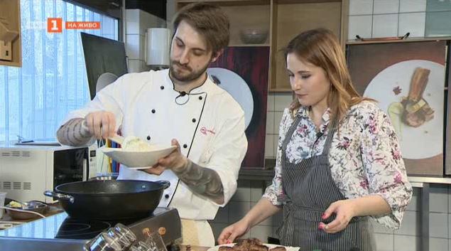 Рецепта до 10 лева с шеф Виктор Жечев: Орзо паста с кюфтенца