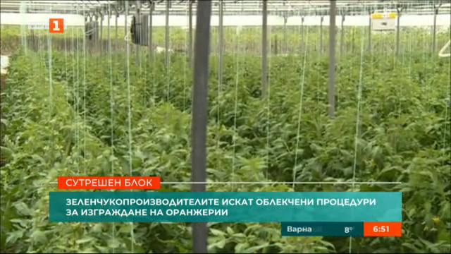Земеделски производители  искат облекчени процедури за изграждане на оранжерии