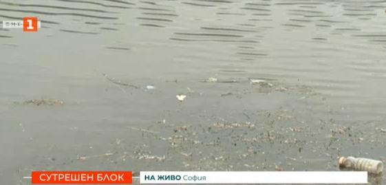 Мръсотия в езерото край Панчарево