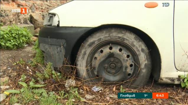 Акция за изоставени превозни средства в Дупница