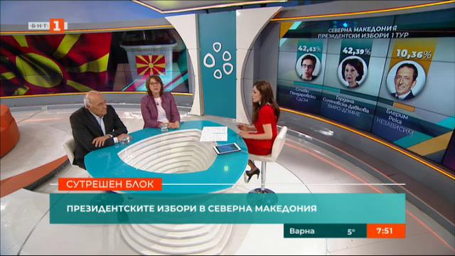 Президентските избори в Севeрна Македония и Украйна
