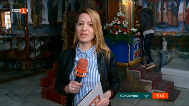 Преди шествието с чудотворната икона на Св. Богородица в Бачковския манастир
