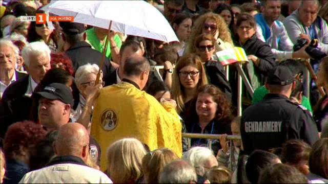 снимка 43 Специално студио: Света литургия, отслужена от папа Франциск в София