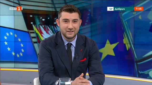Карлос Контрера, кандидат за евродепутат от ВМРО - БНД
