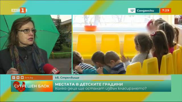 Завърши първото класиране за детски градини и ясли в София