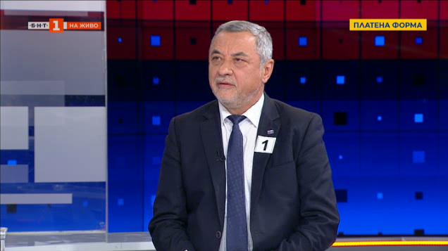 """Валери Симеонов, водач на листата на коалиция """"Патриоти за Валери Симеонов"""""""