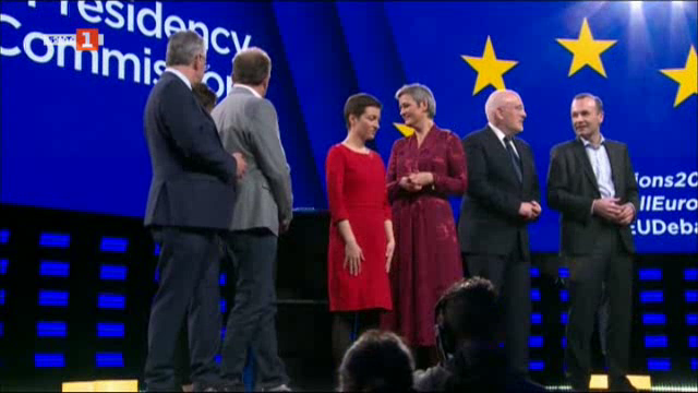 Големият дебат за Европа: тезите на кандидатите за председател на Еврокомисията