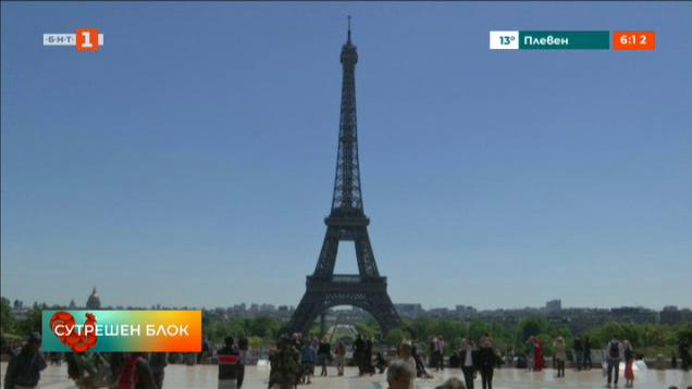 1300 деца посетиха Айфеловата кула за 130-ата ѝ годишнина