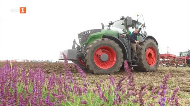 Свръхмодерни селскостопански машини