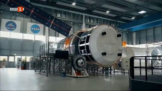 Български тв екип за пръв път в убежището на астронавтите