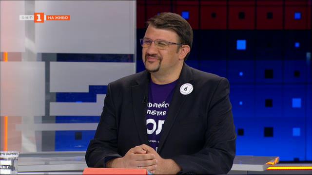 Евроизбори 2019: Настимир Ананиев, кандидат за евродепутат от ПП Волт