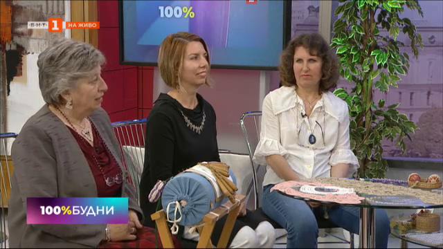 Стари български техники за плетене и шиене на дантели