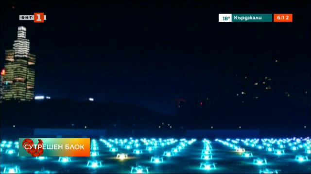 Светлинно шоу в Китай