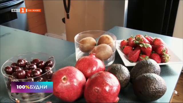 Мястото на плодовете в храненето ни през лятото