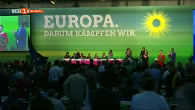 Триумф на зелените в Германия на евроизборите