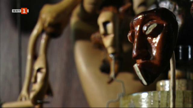 Историята на Боян, който създава творби от непривични материали