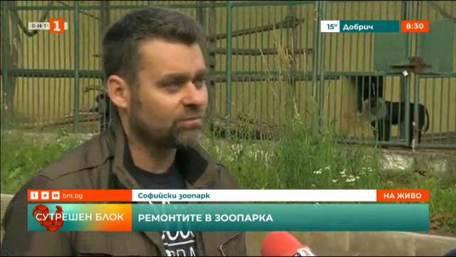 Казуси и ремонт в Софийския зоопарк