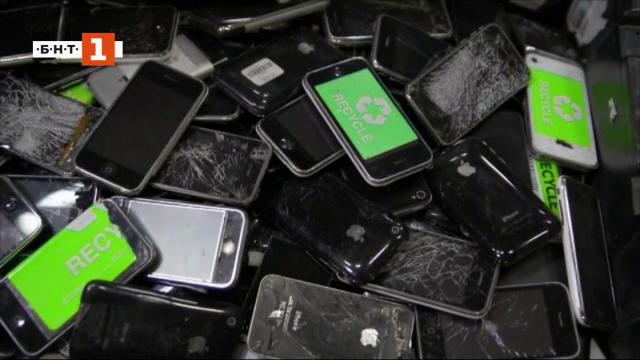 Неудобните факти за рециклирането на старите телефони