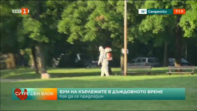 Тревните площи в София се обработват срещу кърлежи
