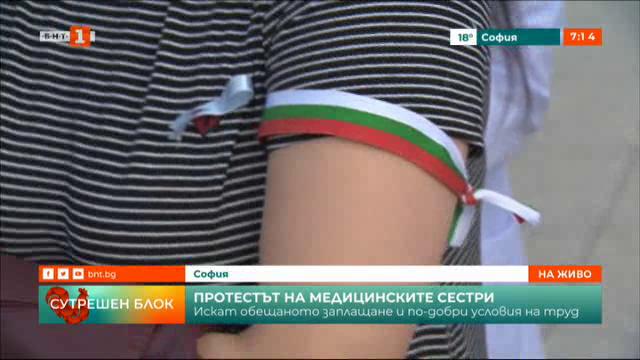 Протестът на медицинските сестри