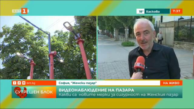100 000 лева са вложени в ремонта на Женския пазар в София