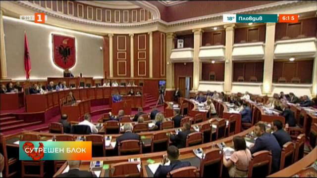 Албанският парламент обсъжда вот на недоверие срещу президента